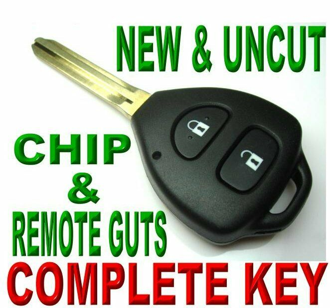 new key remote for yaris chip keyless entry transmitter assy door control fob. Black Bedroom Furniture Sets. Home Design Ideas