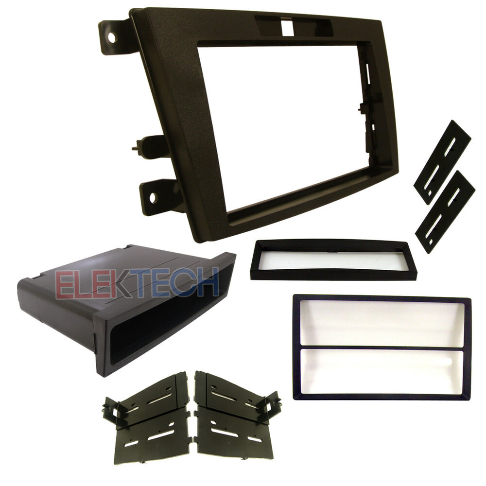 Radio Replacement Dash Mounting Kit Single/Double-DIN w ...
