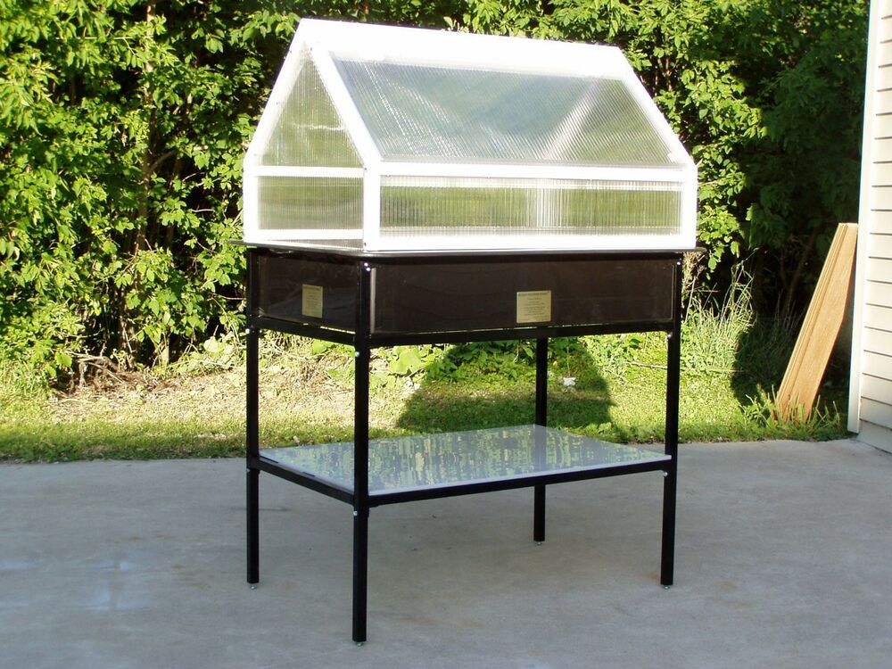 Gromaster greenhouse by kleenmaster for apt patio 39 s 36 x for Apartment greenhouse kits
