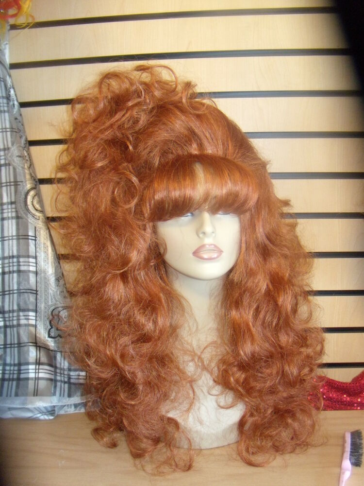 Sin City Wigs Gorgeous Sexy Red Long Soft Silky Curls