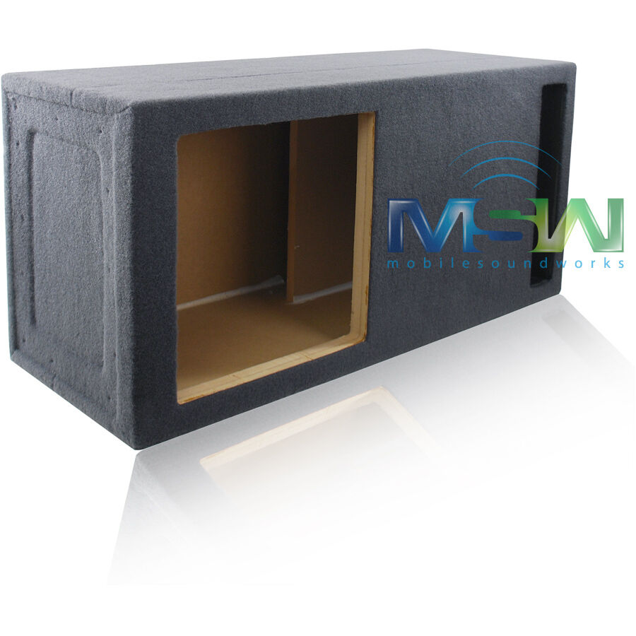 custom ported enclosure box for 15 kicker solo baric l3 On l ported subwoofer box