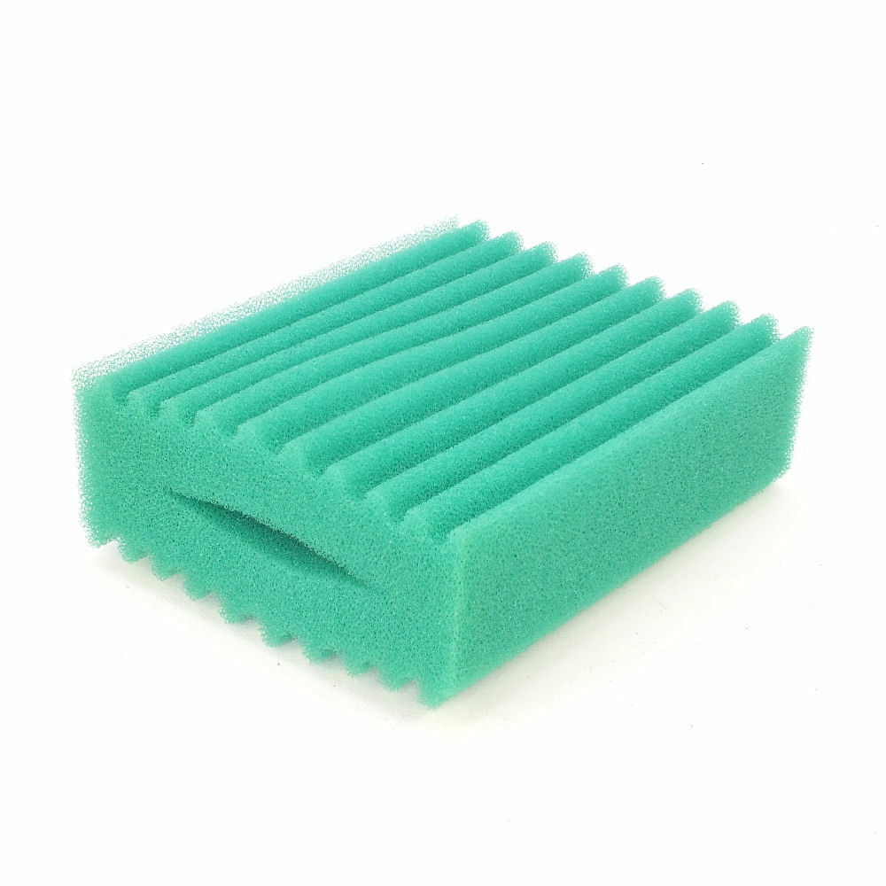 Oase biotec 5 1 10 1 replacment fine filter foam green for Pond filter foam which way up