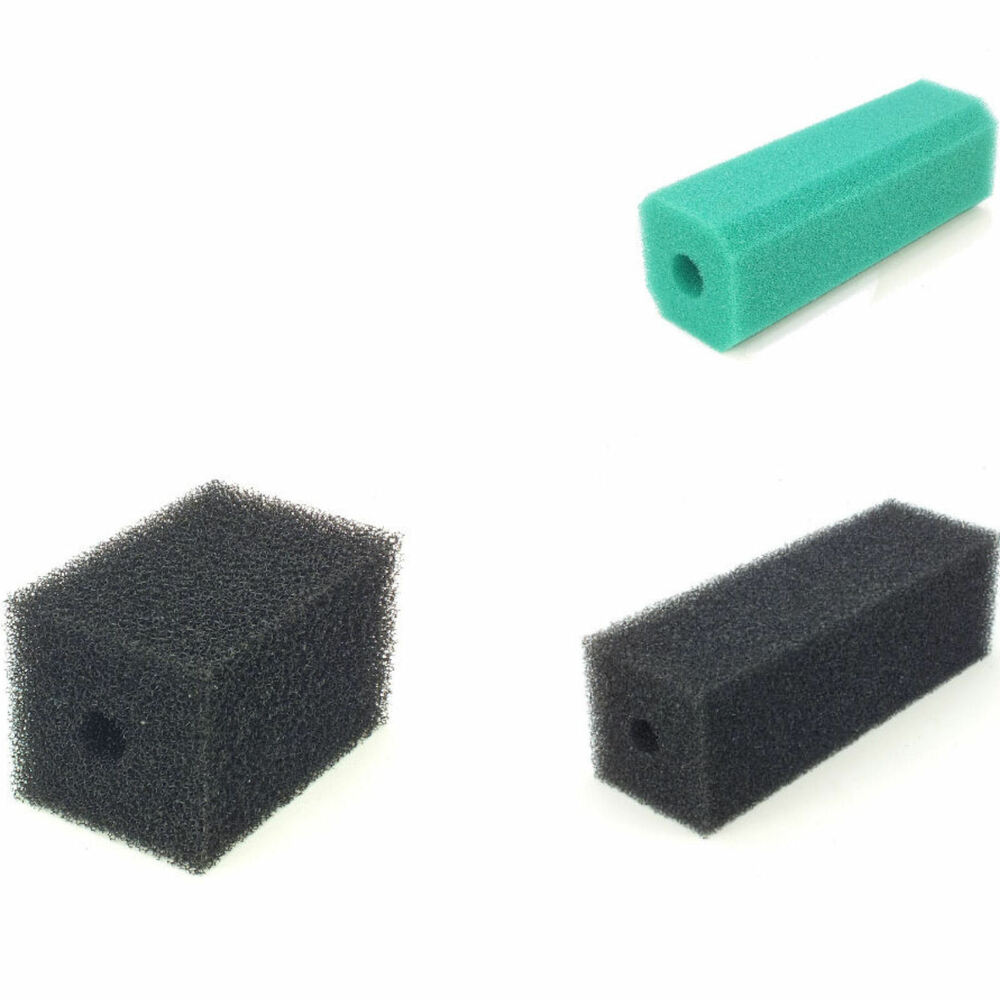 Fish pond pre filter sponge foam block 4 6 12 long for Pond filter sponges