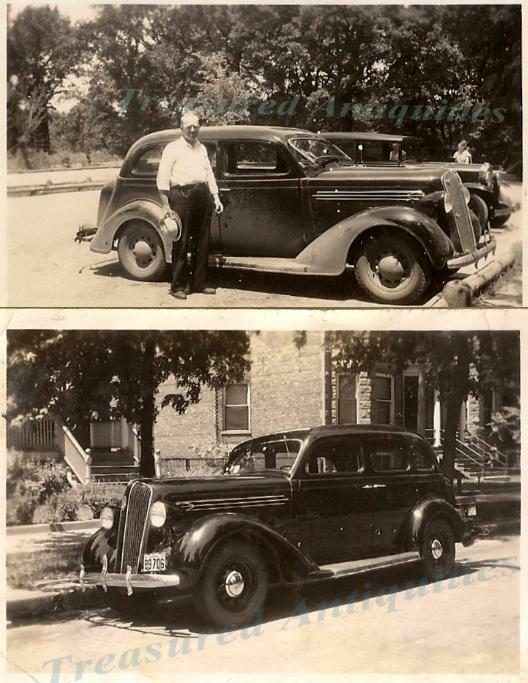 Man with 1936 plymouth four door sedan 1937 illinois for 1936 plymouth 4 door