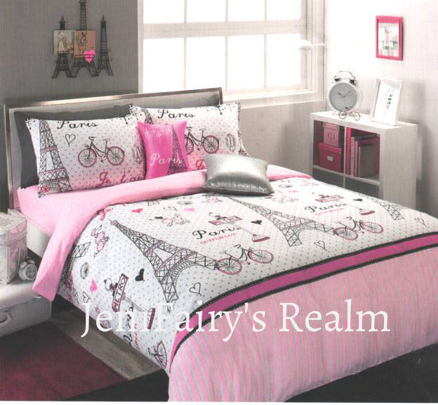 silver and pink bedroom chic ooh la la pink black silver quilt cover 17060