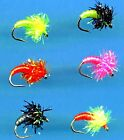 NEW Steelhead Chewee Bug Fly Fishing Flies in Your Choice of Color and Hook Size