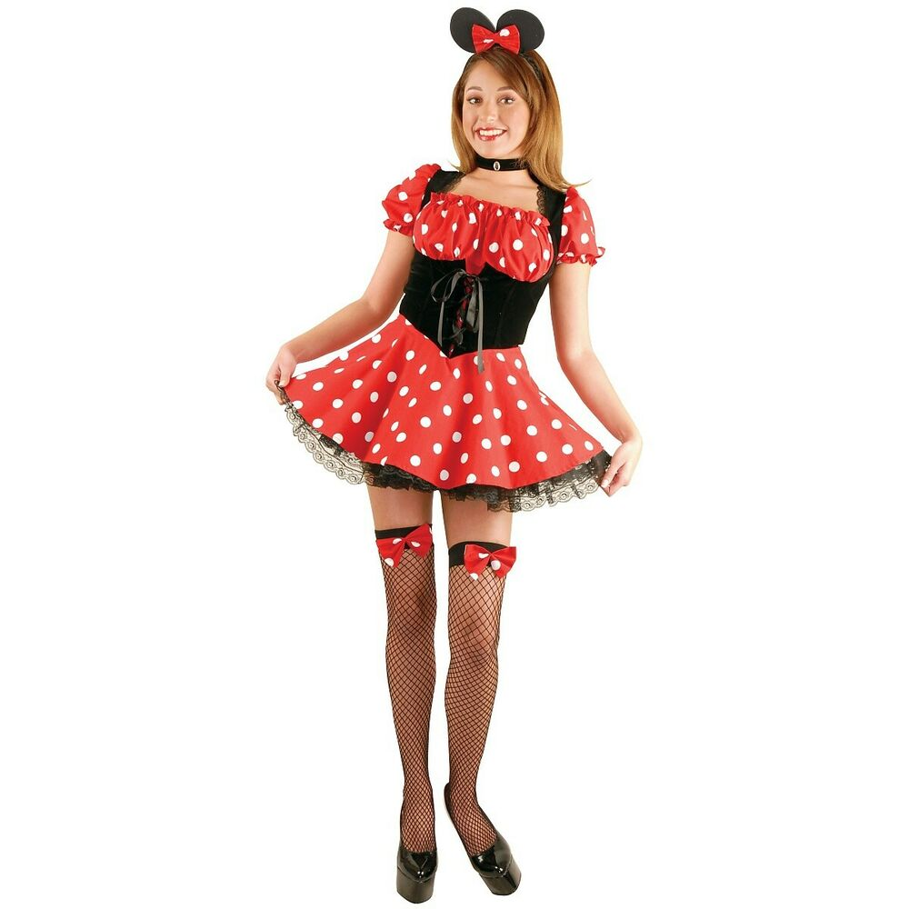 Minnie Mouse Costume Adult Halloween Fancy Dress | eBay