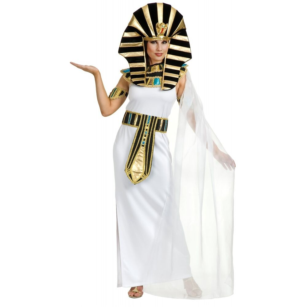 Nefertiti Costume Adult Egyptian Queen Cleopatra Sphinx ...