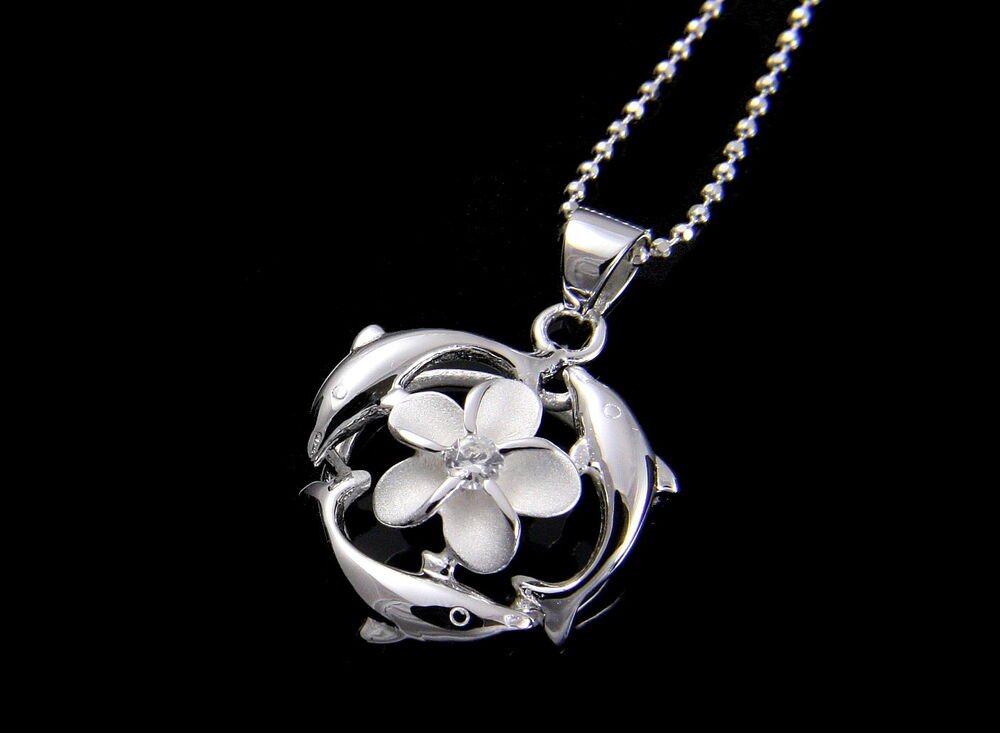 925 Silver Dolphin Necklace