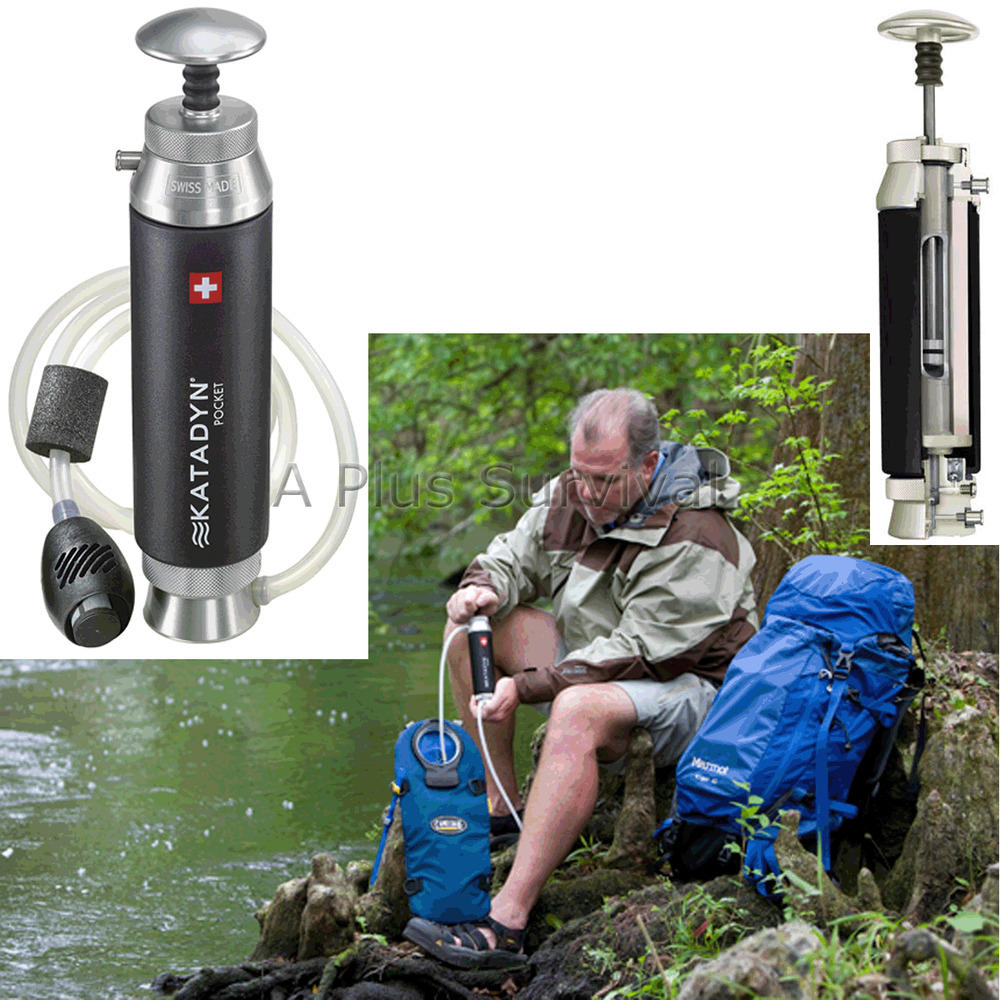 Katadyn Micro Pocket Filter Survival Kit Water Filtration