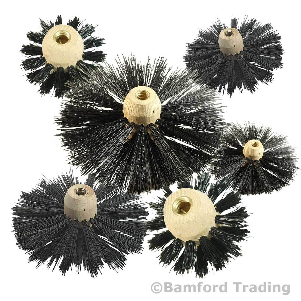 chimney flue sweeping brushes for to fit bailey brothers. Black Bedroom Furniture Sets. Home Design Ideas