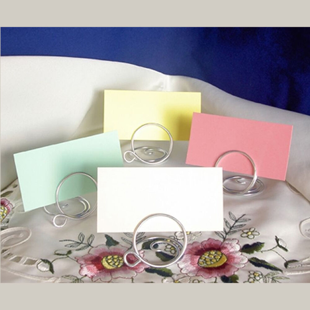 Ideas For Place Cards At A Wedding: Wedding Table Place Setting Name Cards For Holders
