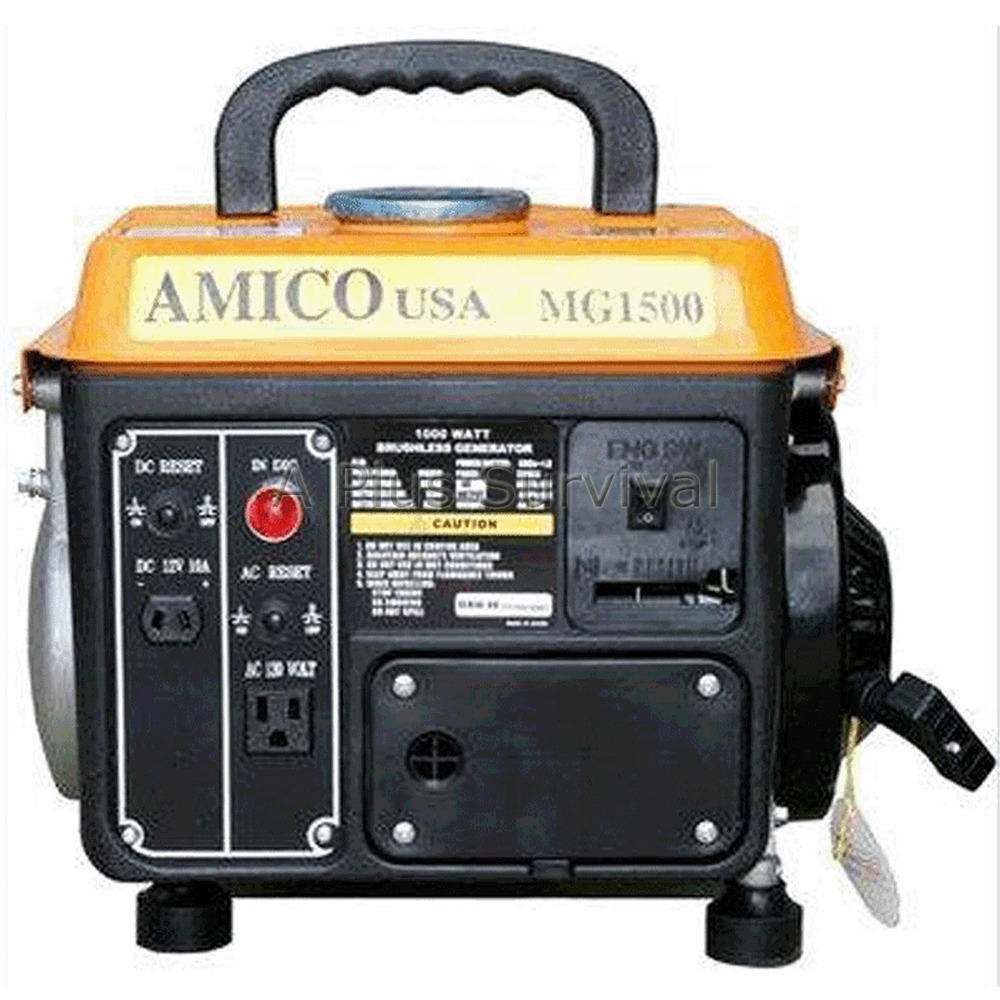... Amico Gasoline Generator MG1500 Emergency Power Battery Charger | eBay