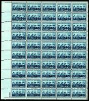 US.# 1013 SERVICE WOMEN ISSUE - SHEET OF 50 MOGNH - VF (ESP#343)