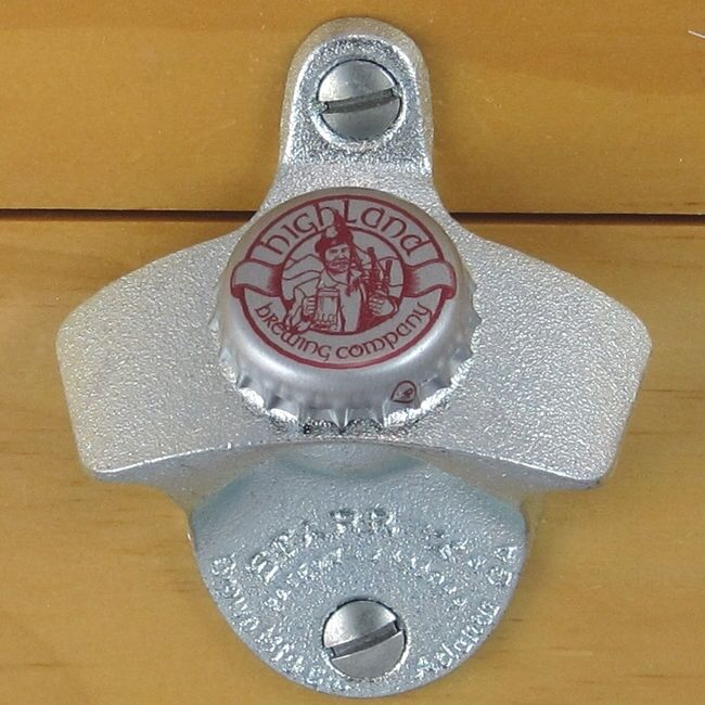 Highland Brewing Company Bottle Cap Starr X Wall Mount