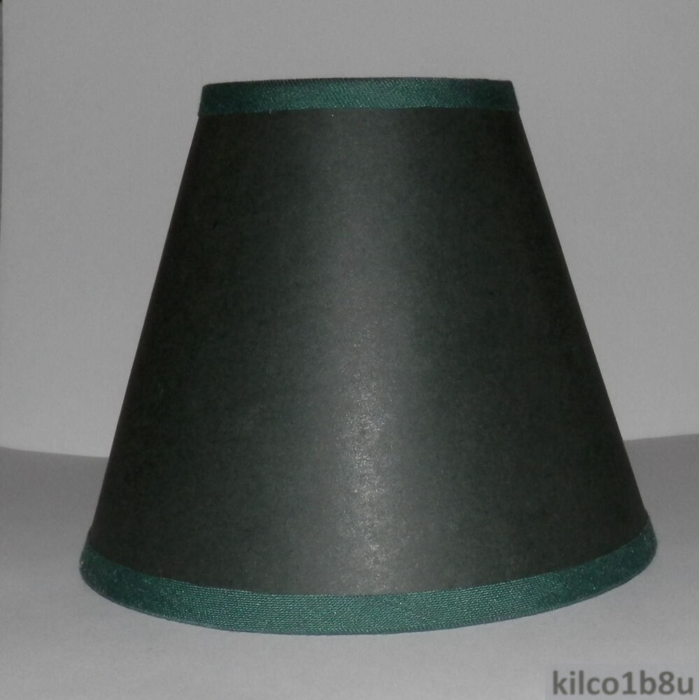 Ckays Forest Green Paper Traditional Chandelier Lamp Shade