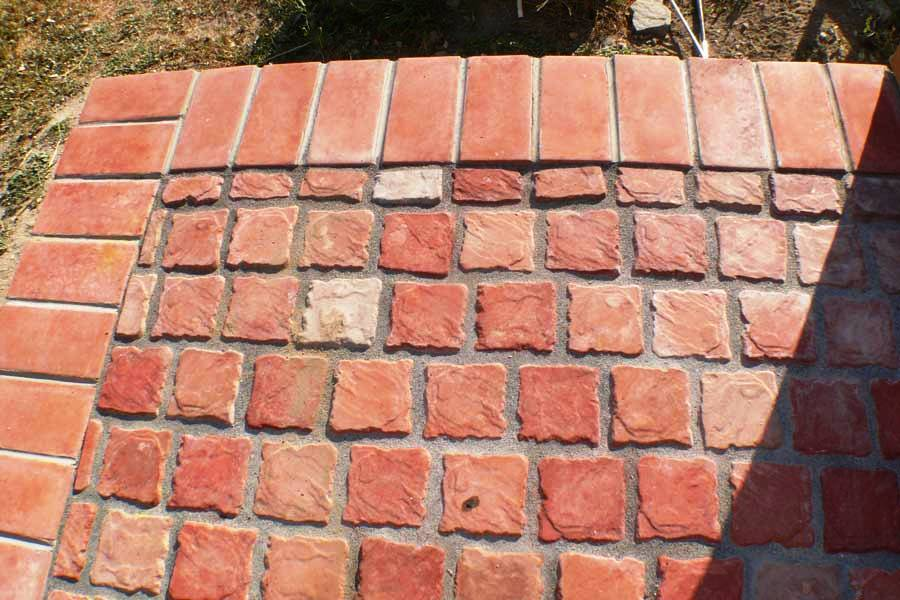 26 4 Free 4x4 Cobblestone Tile Amp Paver Molds For Walls