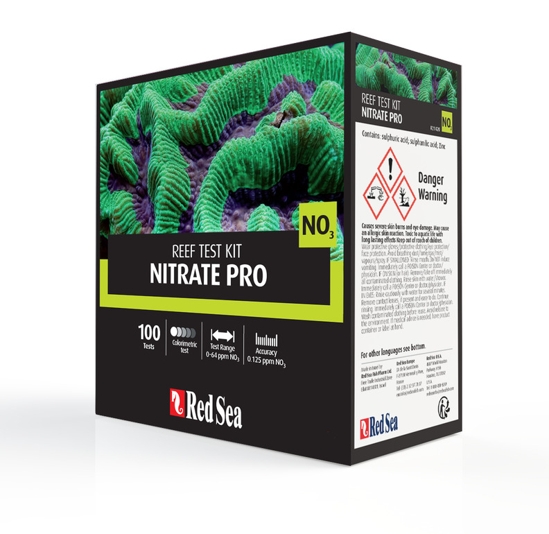 Red sea nitrate pro test kit 100 tests reef marine for I fish pro