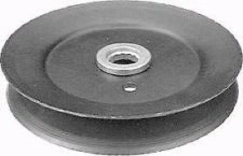 Lawn Mower Deck Pulleys : Mtd series riding lawn mower deck pulley point