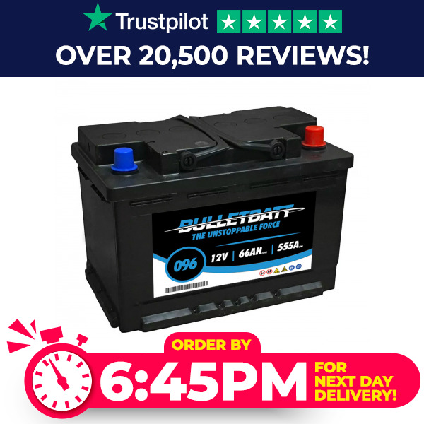 096 heavy duty car battery 12v fits many skoda toyota vauxhall volvo ebay. Black Bedroom Furniture Sets. Home Design Ideas