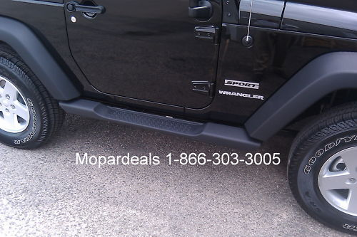 Jeep Wrangler Jk 2 Door Mopar Side Steps Running Boards