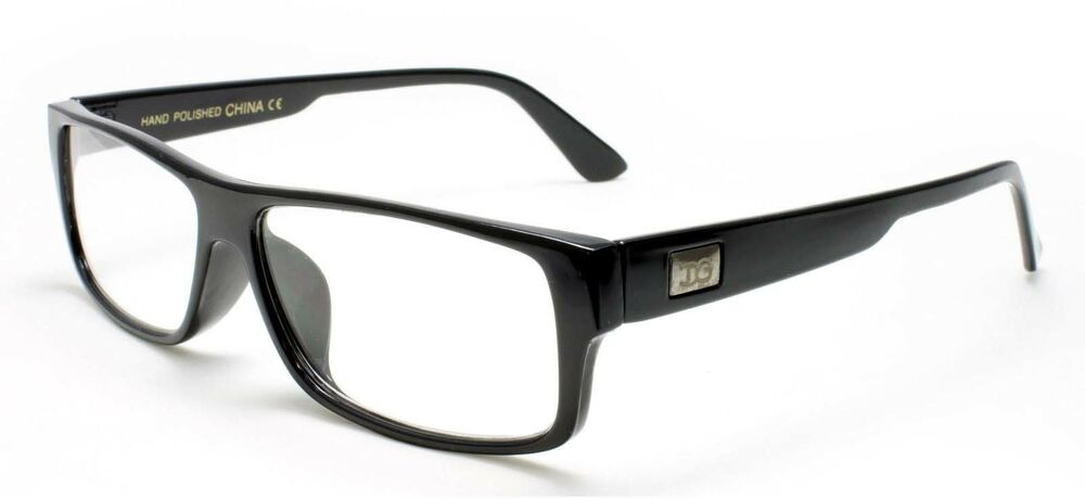 Thick Frame Glasses Black : Men Women Classic Reading Glasses Thick Rim Frame Black ...