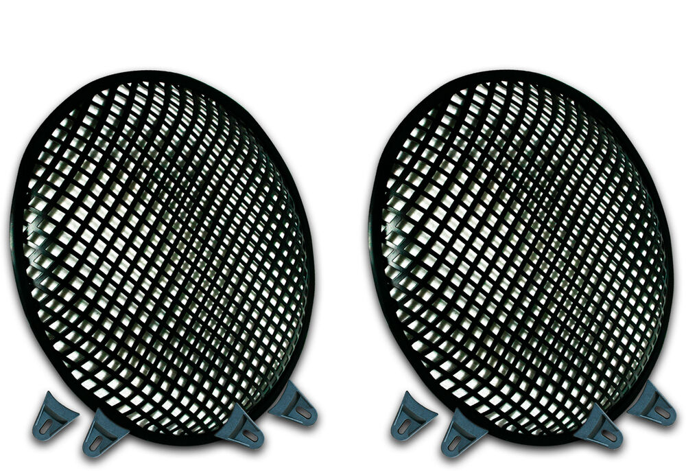12 Quot Subwoofer Grill ~ Inch subwoofer speaker covers waffle mesh grill grille