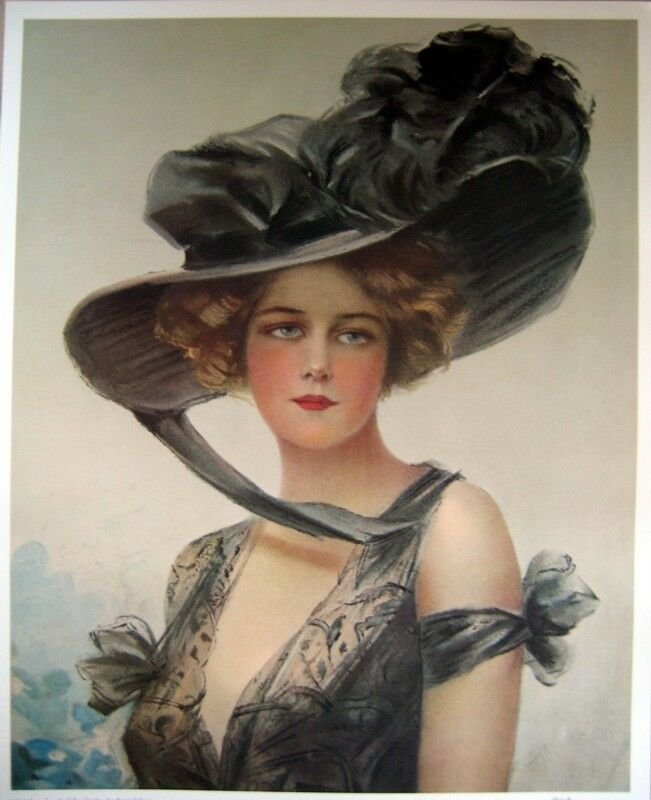 This is an image of Epic Victorian Lady Painting