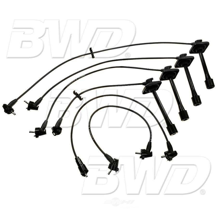 ch5415 bwd select performance 5mm custom fit spark plug wire set