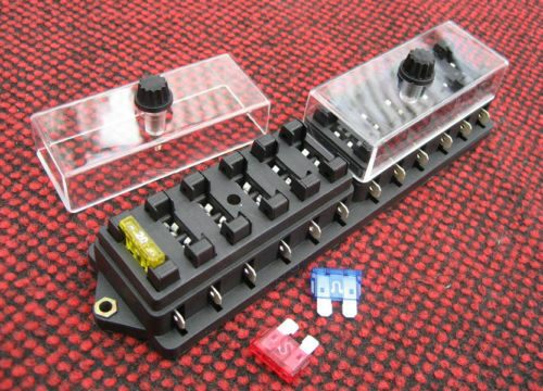 Way std fusebox fuse box fuseholder kit car boat new ebay