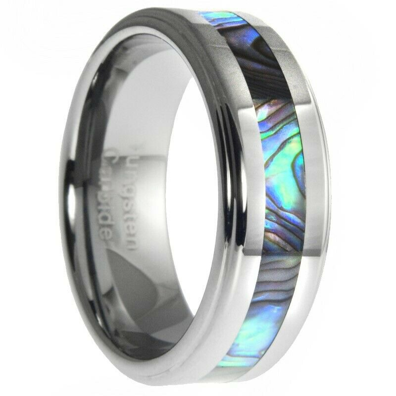 8mm Tungsten Ring With Abalone Shell Inlay Mens Wedding. Lapis Lazuli Engagement Rings. Turtle Dove Necklace. Swimming Watches. Repair Watches. Bracelet Gold Jewellery. 18k Solid Gold Chains. Wire Rings. Sterling Silver Anklet Bracelets