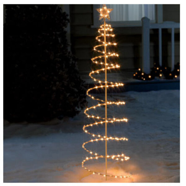 Sienna RA404116 6' Spiral Pop Up Christmas Tree Yard Decor