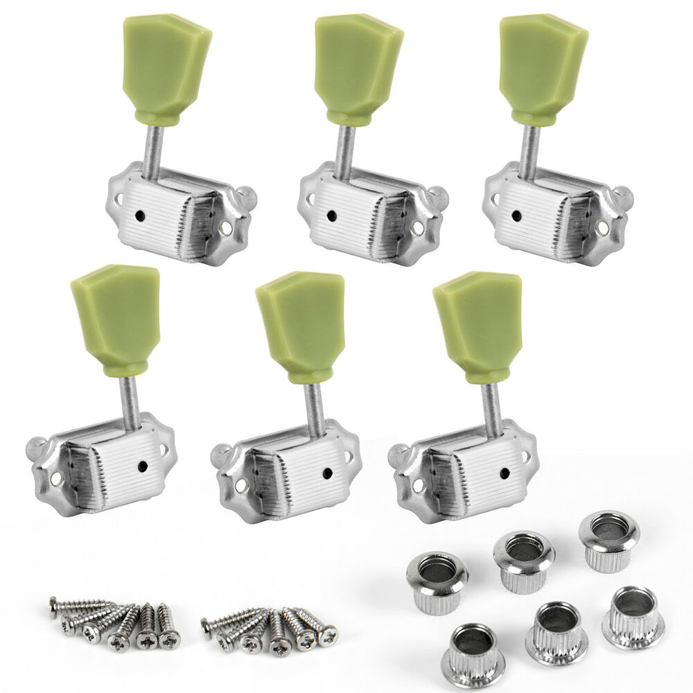 6pcs guitar deluxe tuning pegs tuners keys machine heads for gibson replacement ebay. Black Bedroom Furniture Sets. Home Design Ideas