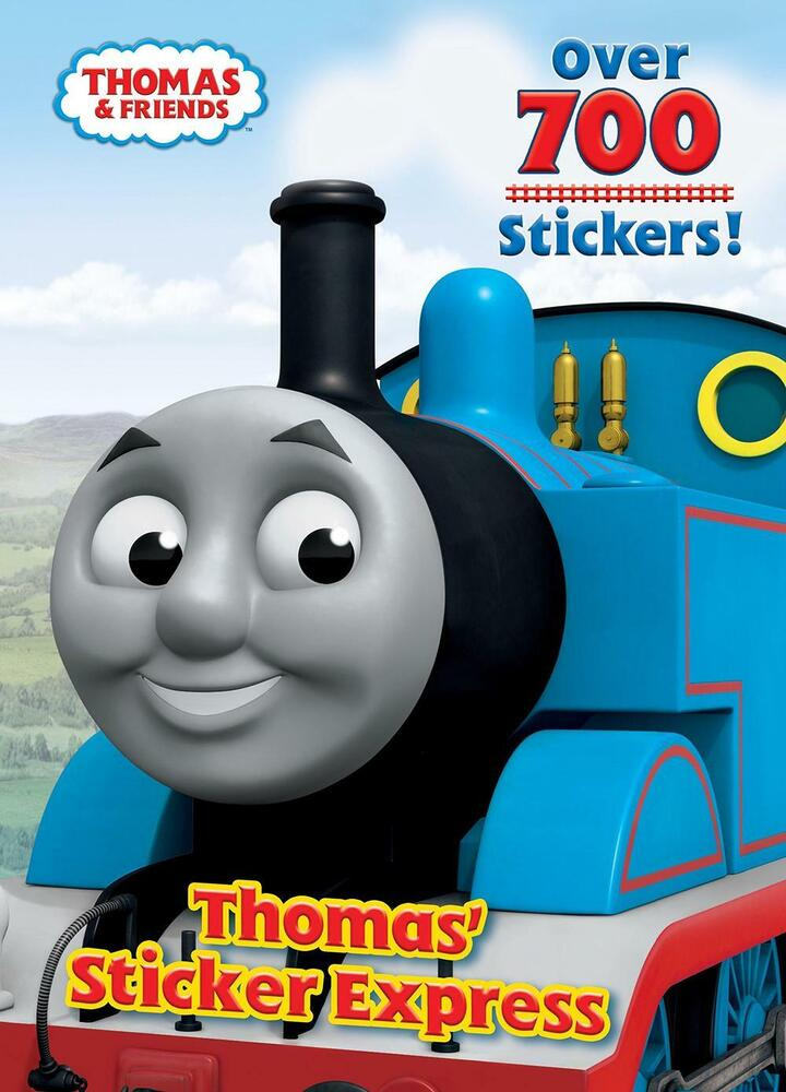 Thomas Sticker Express With Over 700 Stickers by Golden