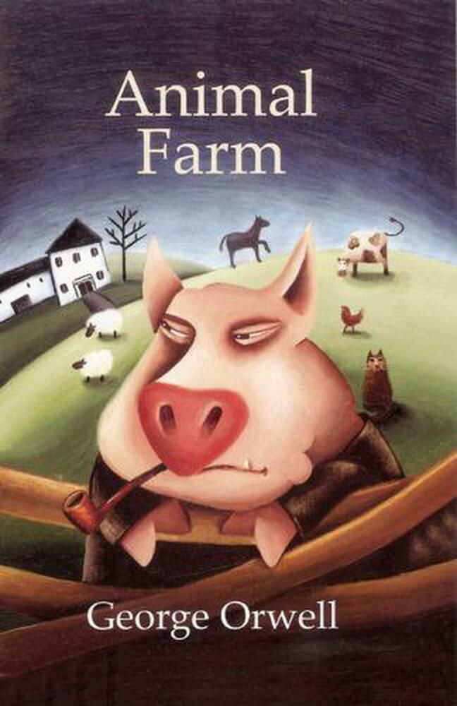 a plot analysis of animal farm a novel by george orwell George orwell (1903-1950) george orwell, 1933 1 biography animal farm the plot george orwell only connect new directions a scene from animal farm, a 1954 animated movie based on animal farm the meaning of the book george orwell.