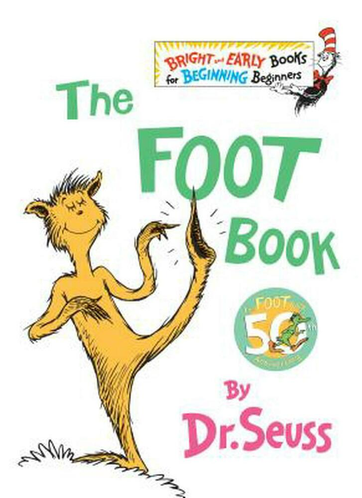 The Foot Book by Dr Seuss (English) Hardcover Book Free Shipping ...