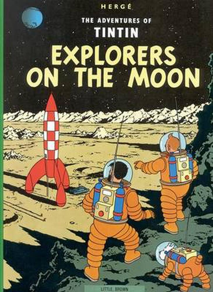 The Adventures of Tintin: Explorers on the Moon by Herge ...