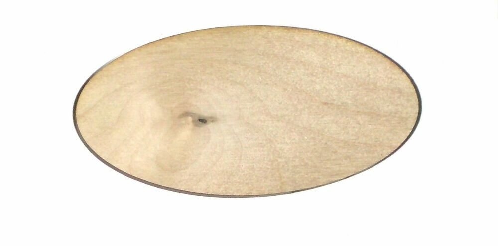 Large Oval Unfinished Wood Shape Cut Out OS23 Crafts