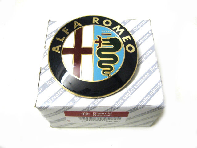 original alfa romeo gt 147 156 emblem heckklappe. Black Bedroom Furniture Sets. Home Design Ideas