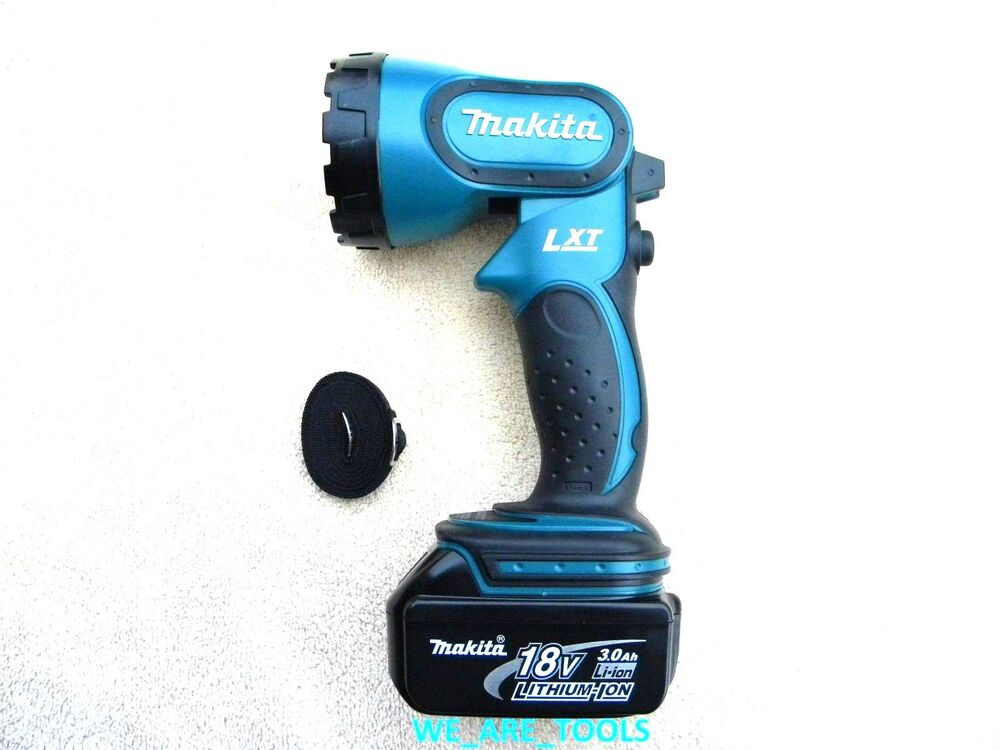 Makita 18v bml185 cordless flashlight 1 bl1830 3 0 ah - Batterie makita 18v ...