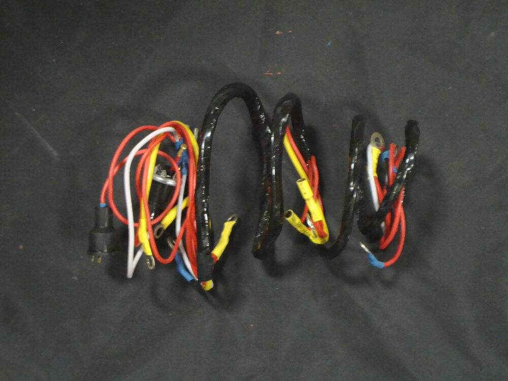 601 800 801 901 2000 4000 FORD TRACTOR WIRING HARNESS 1958