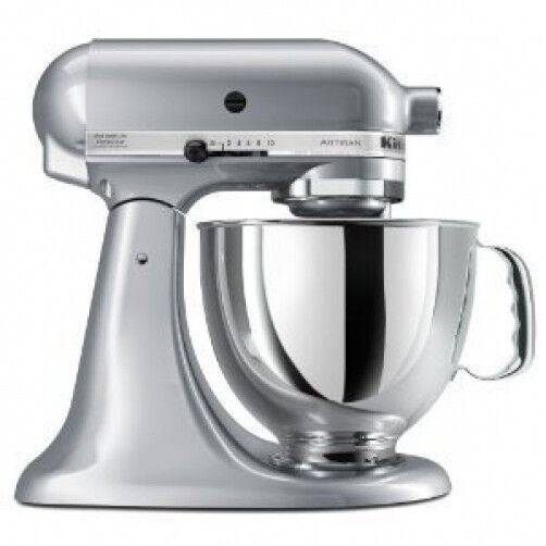 The KitchenAid Artisan stand mixer comes in a huge variety of colors, including a wide palette of shades to complement your appliances and cabinetry. Choose a copper KitchenAid mixer, a pink KitchenAid mixer, or a blue KitchenAid mixer, or opt for one of the many other hues like boysenberry, pistachio, candy apple red, green apple, or onyx black.