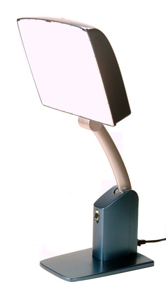 sky 10 000 lux bright day light sad therapy lamp box dl2000 ebay. Black Bedroom Furniture Sets. Home Design Ideas
