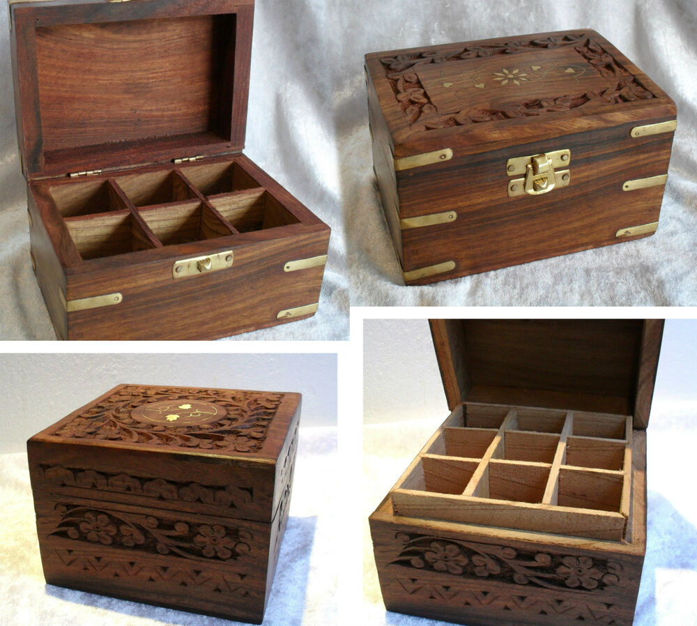 Essential Oils Sectioned Storage Box For 6 9 12 Oil