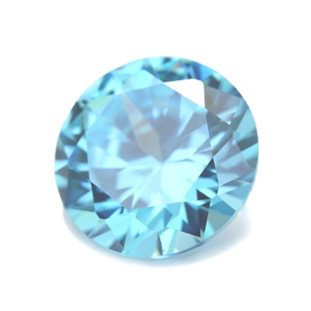 15mm sky blue topaz gem gemstone ebay