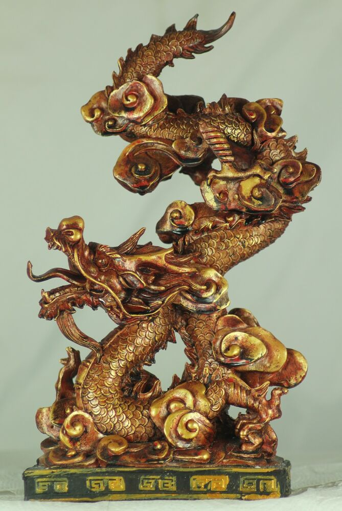 Red/Gold Chinese Dragon - Gift, Celebrations, Chinese New ...