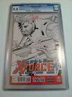 Cable and X-Force 1 Quesada Sketch Variant CGC 9.8 Marvel Now!