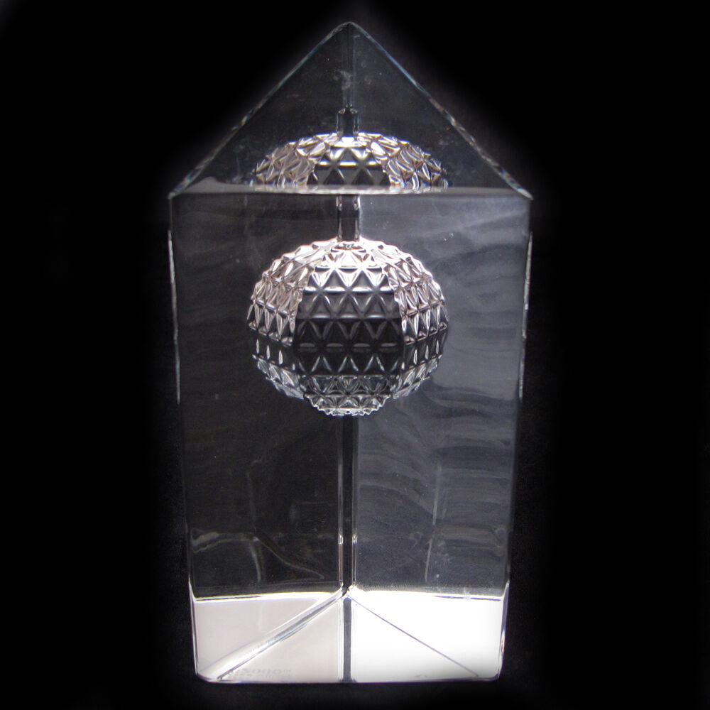 WATERFORD CRYSTAL TIMES SQUARE 2000 PAPERWEIGHT BALL DROP MILLENNIUM PRISM | eBay