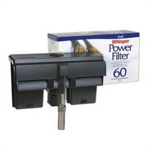 tetra whisper power filter 60 supports up to a 60 gallon