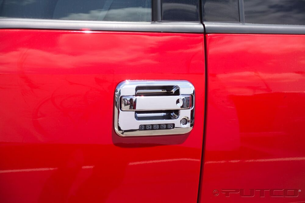 chrome door handle covers ford f150 04 2014 svt raptor. Black Bedroom Furniture Sets. Home Design Ideas